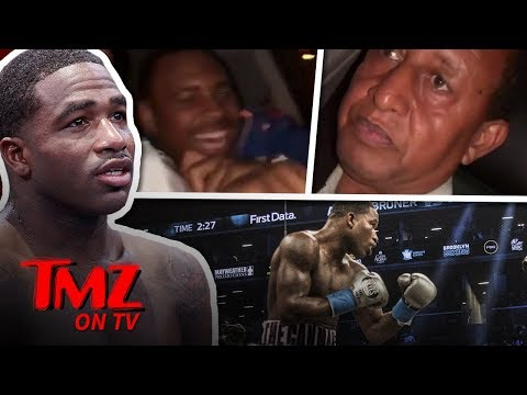 Boxer Goes 'Sicko Mode' In Uber! | TMZ TV