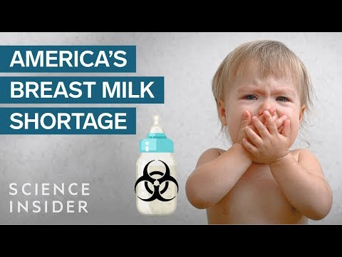 America Doesn't Have Enough Breast Milk — Why There's Now A Shady Market For It