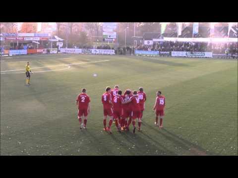VIDEO: Twentse amateur doet Beckham-imitatie