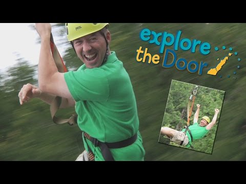 Explore The Door - Ziplining Through Door County