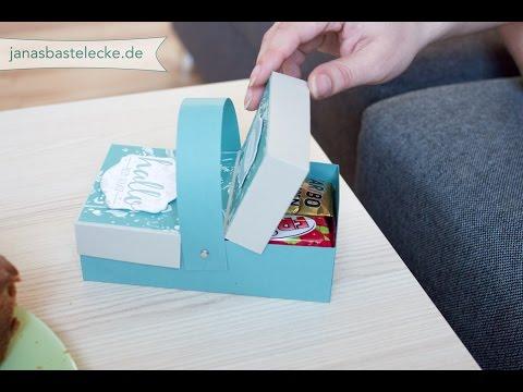 Kreativer Montag 56 - Papier-Picknickkorb