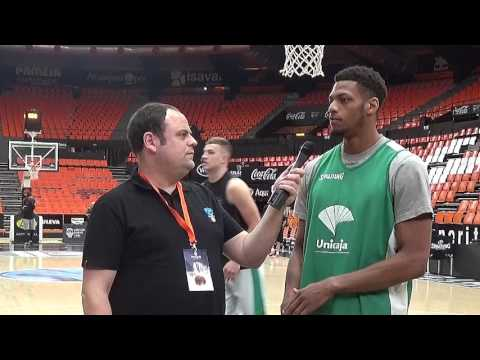 Video Interview, Game 3: Jeff Brooks, Unicaja Malaga