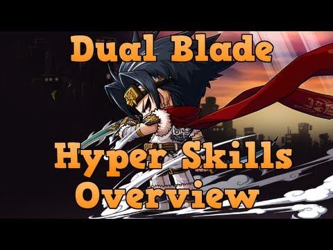 [GMS] Dual Blade Hyper Skills