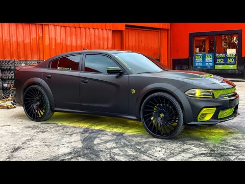 First in the world 2020 widebody (HELLCAT) on 26s