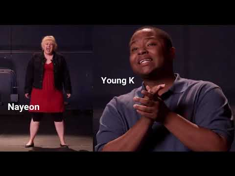 JYP Nation in Pitch Perfect [Audition Scene]