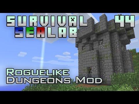Dungeon Crawler (Minecraft | Survival Sealab #44) [Roguelike Dungeons Mod]