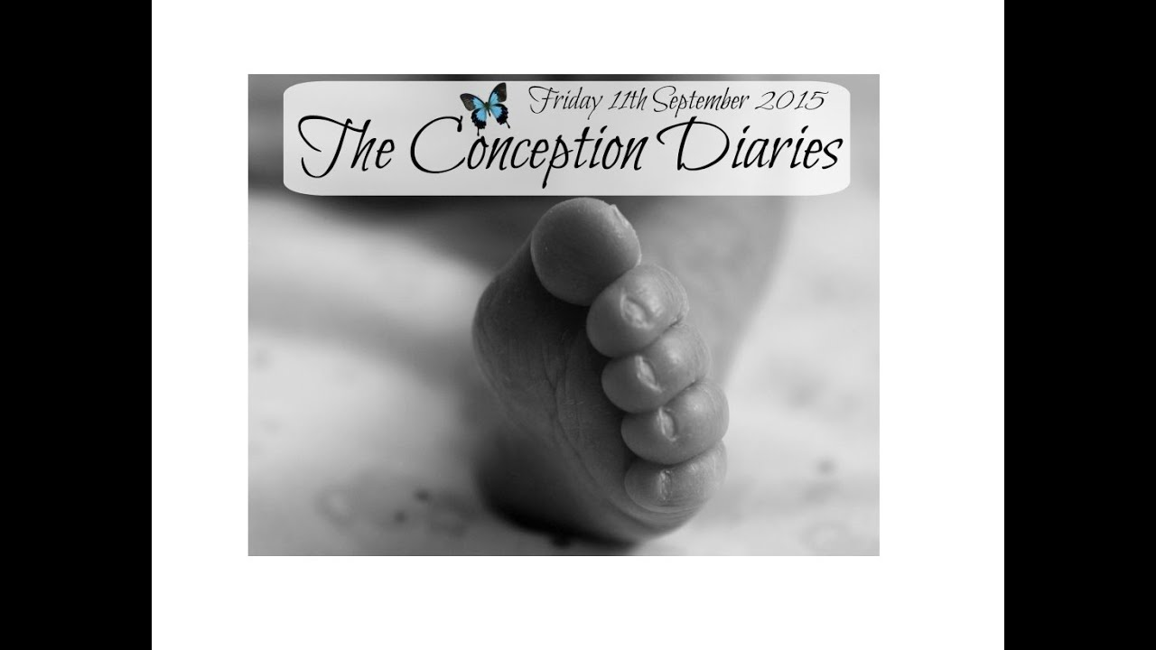 The Conception Diaries 11th September 2015