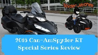 5. 2016 Can-Am Spyder RT Special Series Overview - Spyder Talk #2