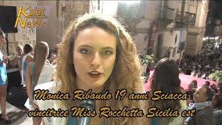 Caltagirone Italy  City pictures : Caltagirone, Marica Ribaudo Miss Rocchetta Sicilia est Fase regionale Miss Italia