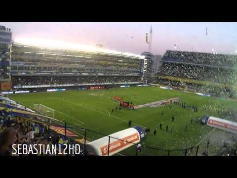 Video - Recibimiento / Boca vs riBer 2015 - La 12 - Boca Juniors - Argentina