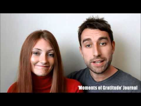 Video of 'Moments of Gratitude' Journal