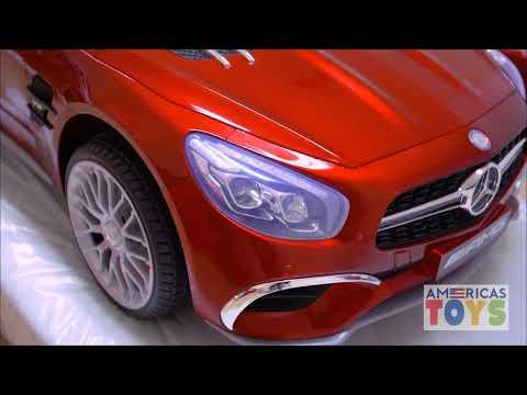 Power wheels SL65 Mercedes Ride on Car