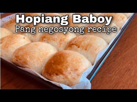 Hopia   hopiang  baboy   Commercial recipe