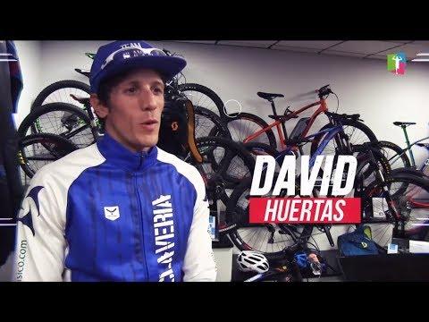 Presentamos a David Huertas como triatleta delTeam Claveríapara la temporada 2018