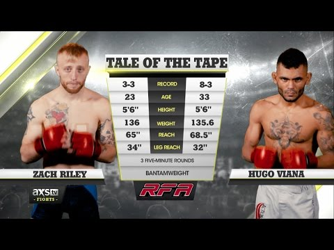 Fight Of The Week: Zac Riley And Hugo Viana Go To War At RFA 34