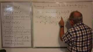 Algebra Intermedia - Lección 11 - A (el Binomio Que Es La Esta De Dos Cuadrados Perfectos)
