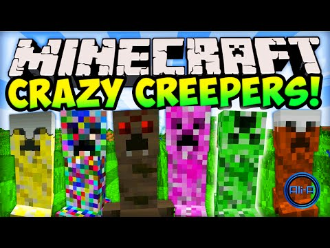 Minecraft CRAZY CREEPERS! (EPIC CREEPER MOD) – Minecraft Mods