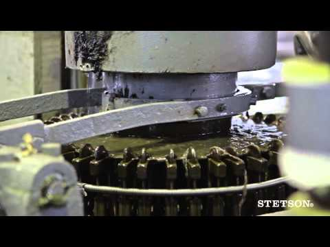 Stetson Hats – How Fedora and Trilby hats are made – Dress Hats