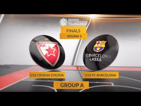 EB ANGT Finals Highlights: U18 Crvena Zvezda mts Belgrade-U18 FC Barcelona Lassa