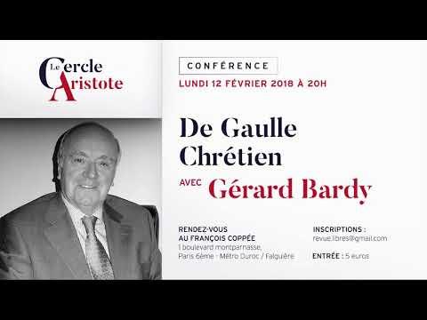 Gérard Bardy : de Gaulle chrétien