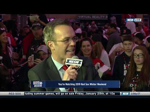 Video: Red Sox Winter Weekend: Rick Porcello Interview