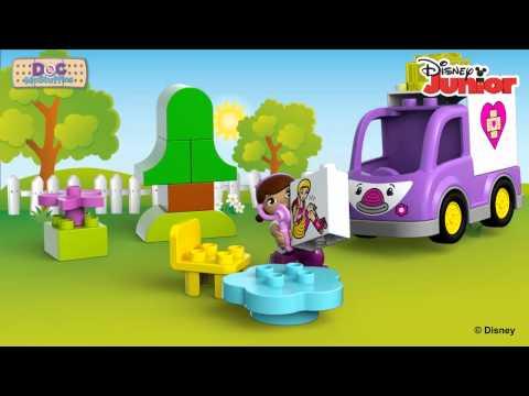Конструктор Скорая помощь Доктора Плюшевой - LEGO DUPLO - фото № 4