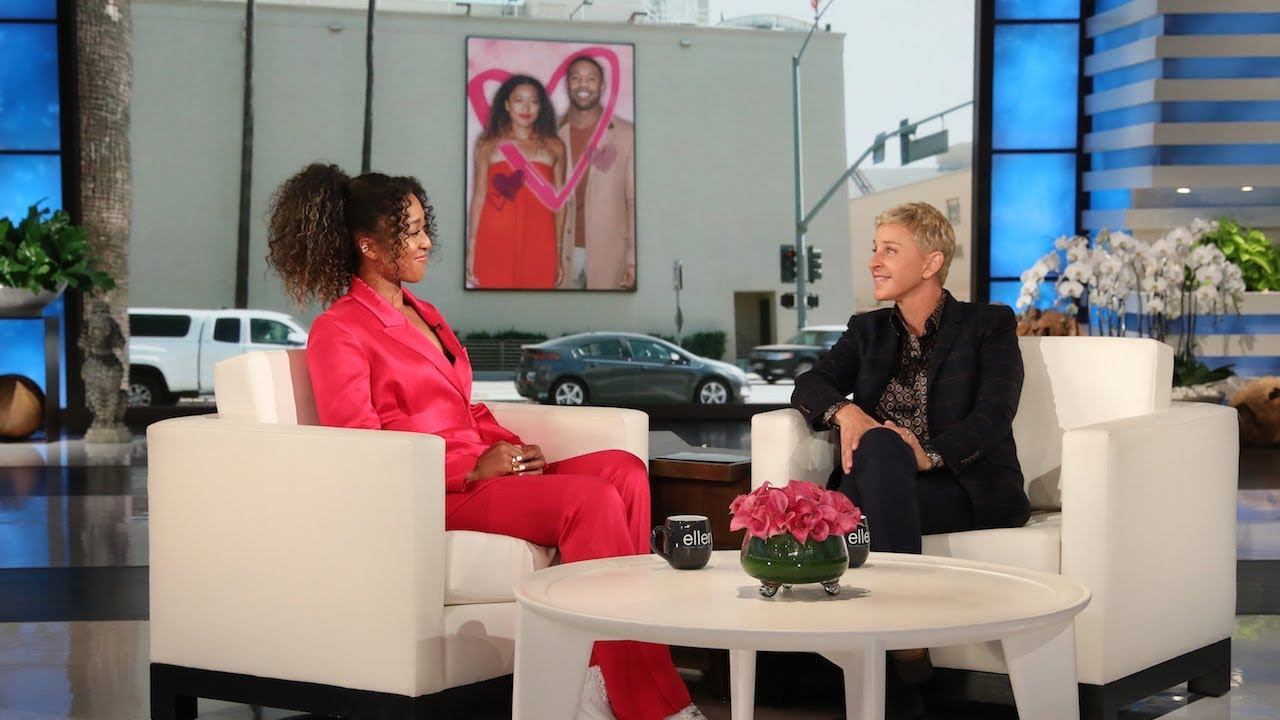 WATCH: Naomi Osaka jokingly confronts Ellen DeGeneres