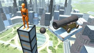 BeamNG.drive - Cannon Dummy Takedown