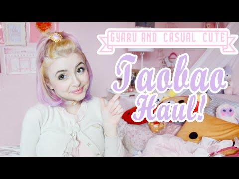 ♡ BIG JUICY TAOBAO HAUL: Gyaru, Casual Cute Fashion, and Rilakkuma! ♡