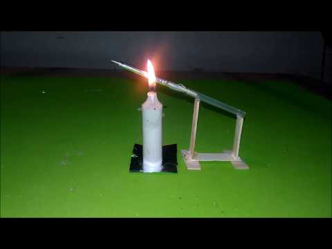 how to make a mini rocket & missile launcher - easy way - toy for kids story game