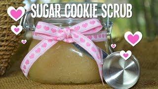 DIY Sugar Cookie Body Scrub - YouTube