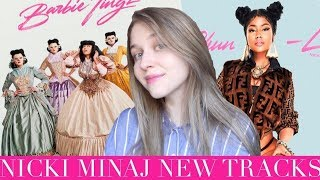 Nicki Minaj - Chun Li & Barbie Tingz | Обзор песен (track review)
