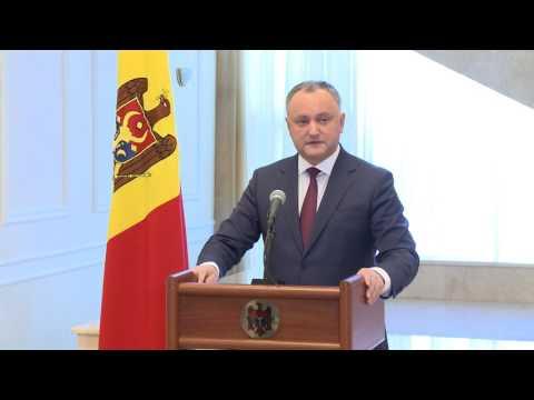 Igor Dodon, Președintele Republicii Moldova a susținut un briefing pe marginea rezultatelor vizitei la Bruxelles