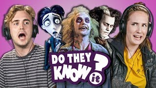 Video DO COLLEGE KIDS KNOW TIM BURTON MOVIES? (Sweeny Beetle Corpse) MP3, 3GP, MP4, WEBM, AVI, FLV Januari 2019
