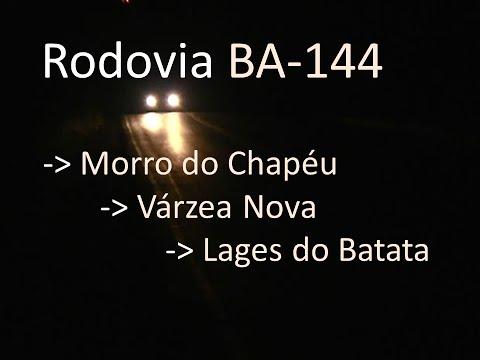 BA-144 | Rodovia Abandonada |  Morro do Chapéu | Várzea Nova | Lages do Batata | #BA144