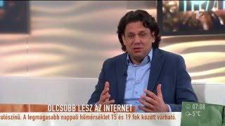 TV2 Mokka interjú – 2016. április 21.