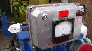 Дополнительная панель приборов на мини трактор