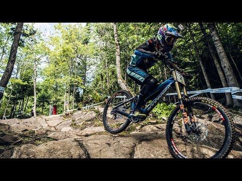 downhill world cup 2016, mont sainte anne: danny hart highlights