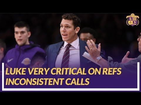 Video: Lakers Nation Post Game: Luke Walton on Inconsistent Officiating in Overtime Loss to the Spurs