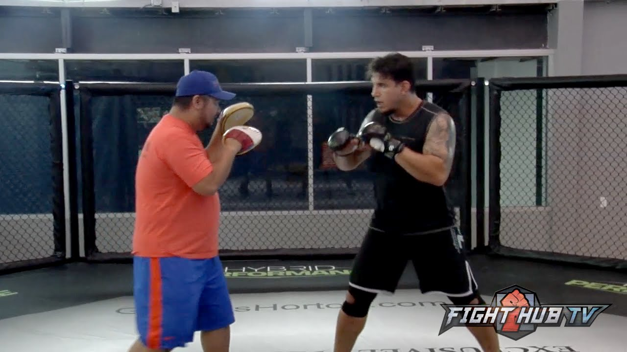 Frank Mir vs. Andrei Arlovski full video- Mir MMA & Boxing workout video
