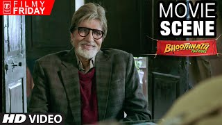 Nonton Amitabh Bachchan S Creative English Question   Bhootnath Returns Movie Scene   T Series Filmy Friday Film Subtitle Indonesia Streaming Movie Download