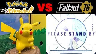 Fallout 76 Beta Burns Players While Pokemon Let's Go Demo Wins Them Over by Verlisify