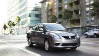 2012 Nissan Versa Sedan - Drive Time Review With Steve Hammes