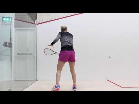 Squash tips: Two wall boast technique!