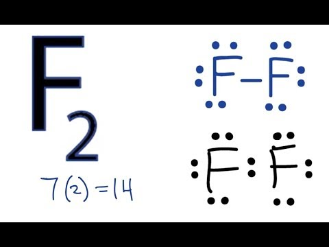 F2 Lewis Structure: How to Draw the Lewis Dot Structure for F2