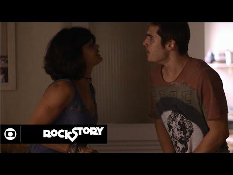 Rock Story: capítulo 165 da novela, sábado, 20 de maio, na Globo