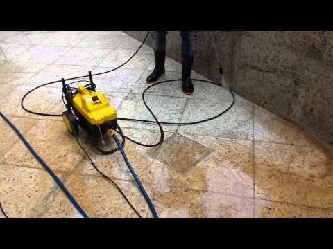 Goyazlimp Renovação de granitos em Condominio no Setor Bueno - Goiânia