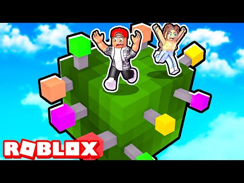 ROBLOX STAY ON THE CUBE...