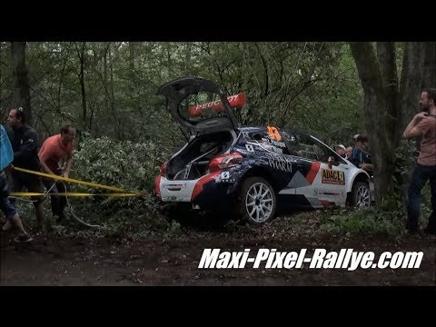WRC ADAC Rallye Deutschland 2017 - Crash & Max Attack ! [HD]