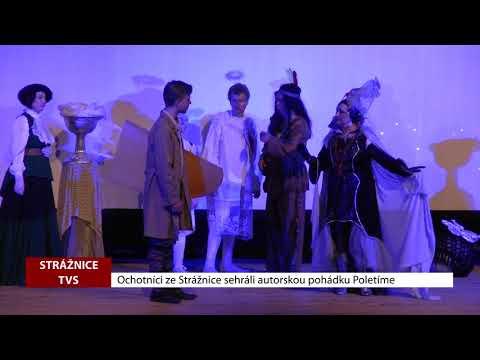 TVS: Strážnice - Ochotnické divadlo nazkoušelo novou autorskou hru